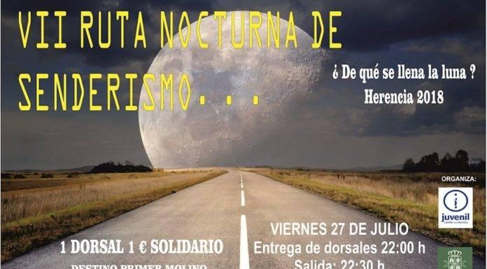 Ruta de Senderismo Nocturna ¿De qué se llena la Luna?