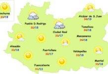 Las temperaturas del verano están siendo muy llevaderas en Herencia