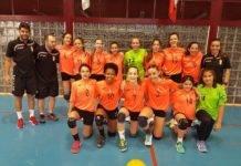 Herencianas campeonas con la selección en el Torneo de Balonmano de Cangas de Narcea