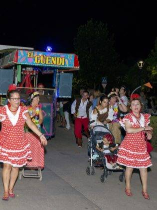 Aumenta la participación en la tercera edición del Carnaval de verano de Herencia 4