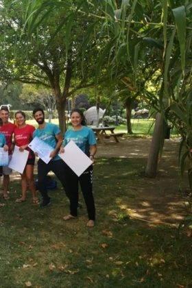 Clausura de III Escuela de Balonmano Playa en Herencia 12