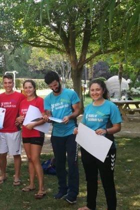 Clausura de III Escuela de Balonmano Playa en Herencia 2