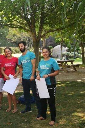 Clausura de III Escuela de Balonmano Playa en Herencia 5