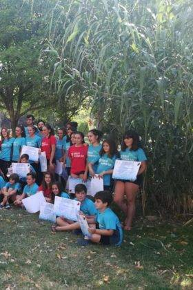 Clausura de III Escuela de Balonmano Playa en Herencia 8