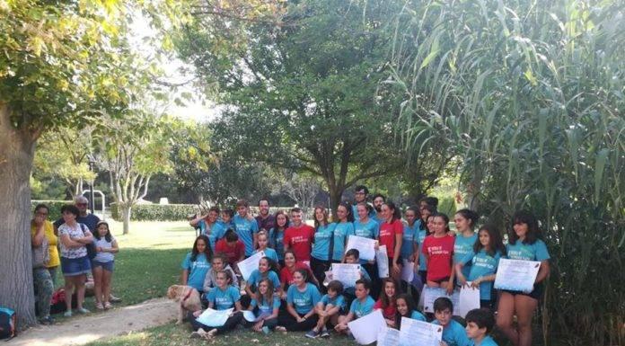 Clausura de  III Escuela de Balonmano Playa en Herencia
