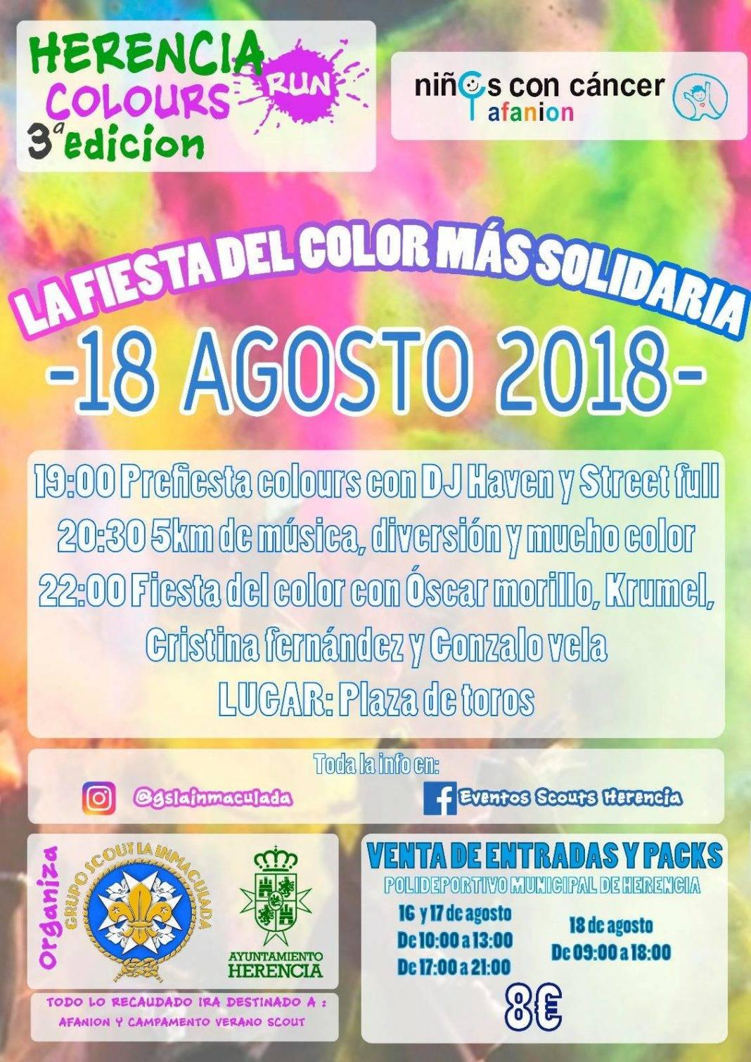 III herencia colours run 1068x1511 - III Herencia Colours Run, la fiesta del color más solidaria