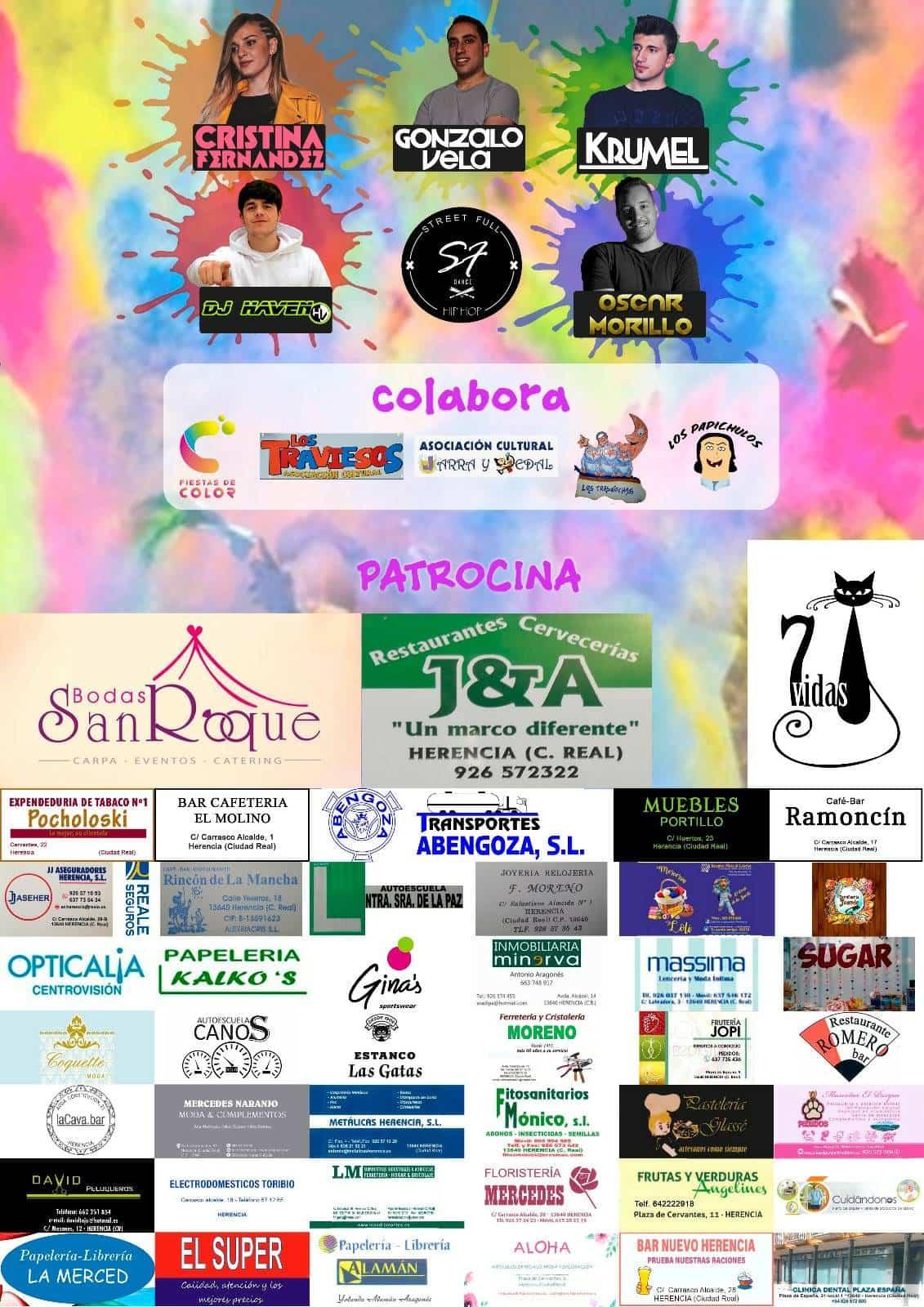 III herencia colours run 2 - III Herencia Colours Run, la fiesta del color más solidaria