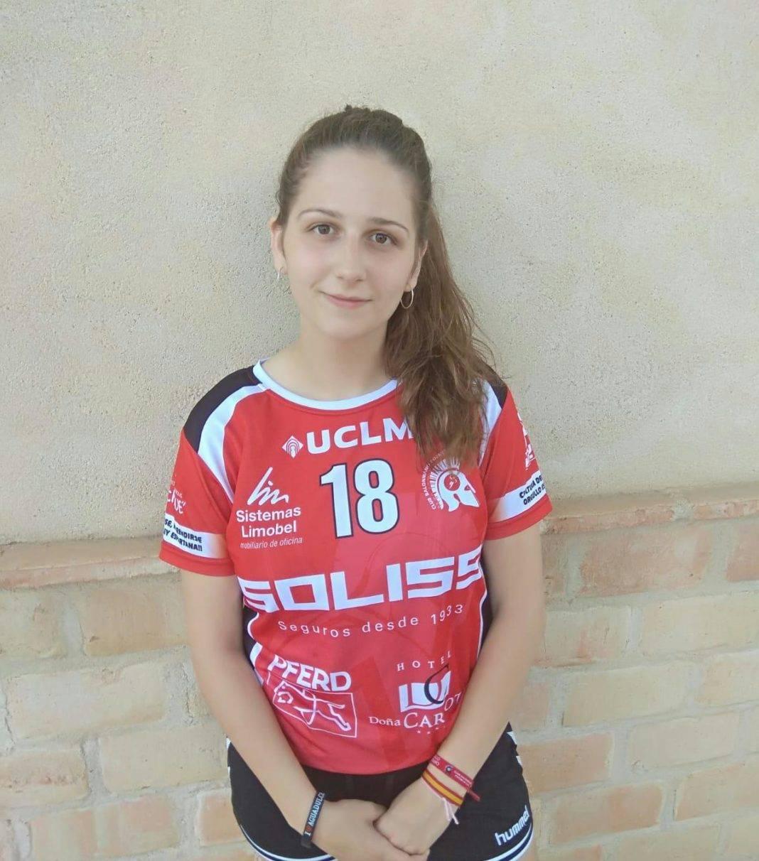 María Mercedes Ramírez del Pozo Mora renueva con el balonmano Pozuelo 4