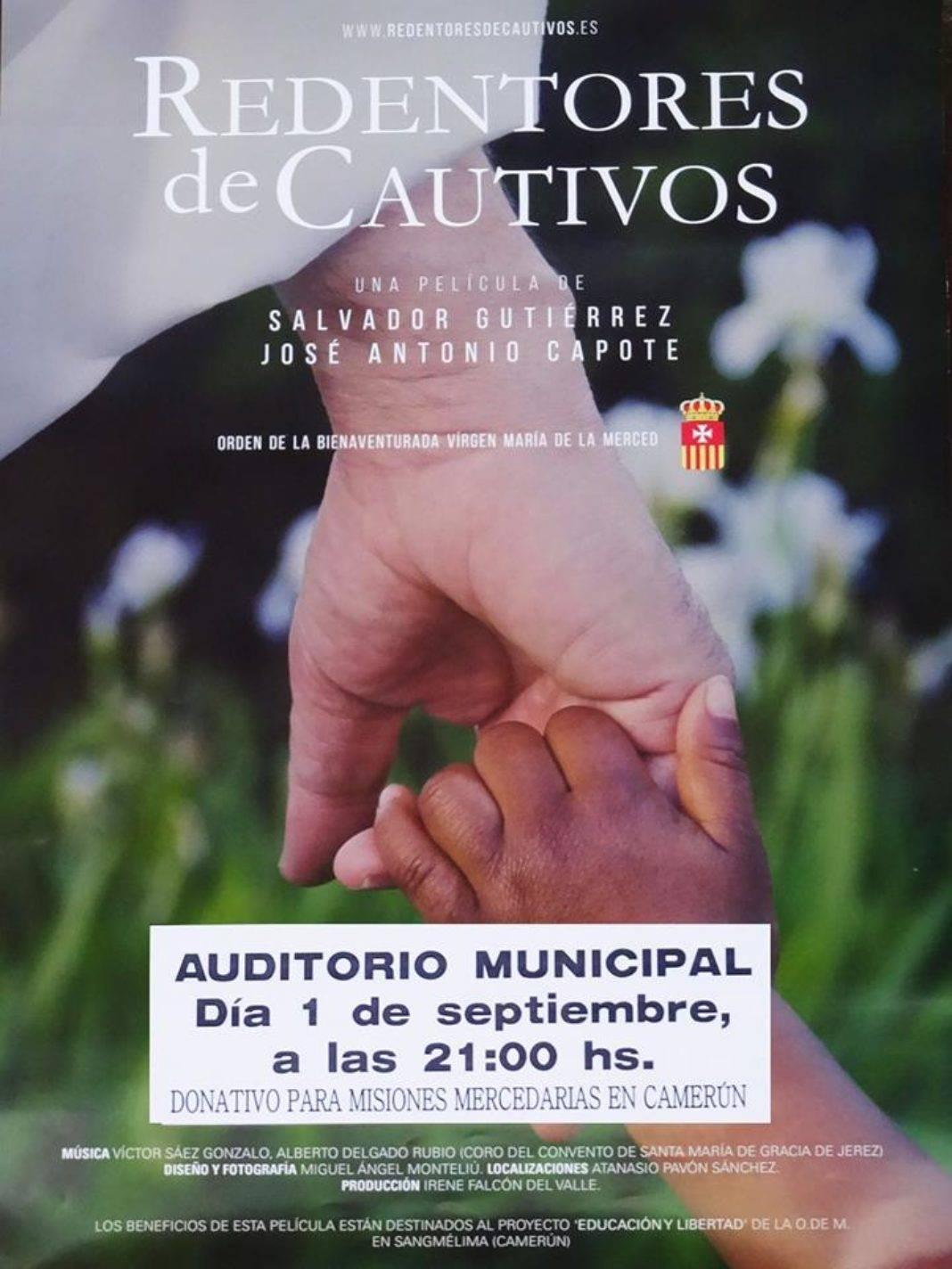 """REDENTORES DE CAUTIVOS EN HERENCIA 1068x1424 - El documental """"Redentores de Cautivos"""" se estrenará en Herencia"""