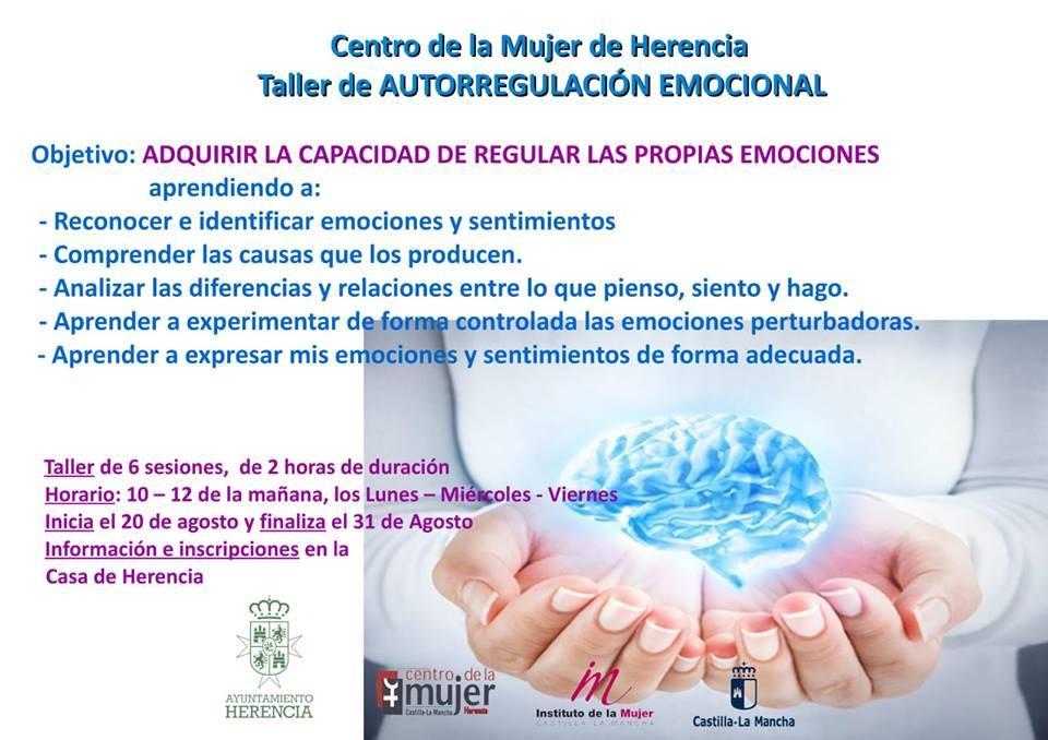 Taller de autorregulación emocional en Herencia - El Centro de la Mujer organiza un taller de autorregulación emocional