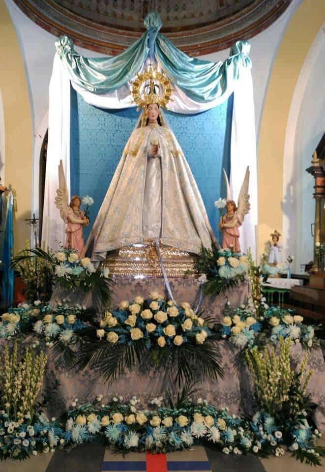 Virgen de la Labradora - Programa de actos para las fiestas del barrio de La Labradora