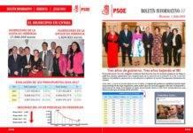 El PSOE de Herencia edita un boletín informativo sobre inversiones en Herencia