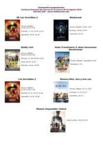 Programación cines Cinemancha del 3 al 9 de agosto 3
