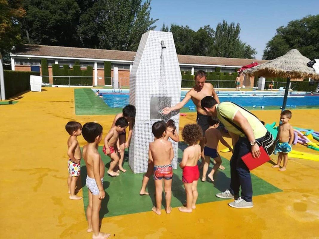 Inicio de los cursillos de natación del mes de agosto 5