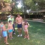Inicio de los cursillos de natación del mes de agosto 4