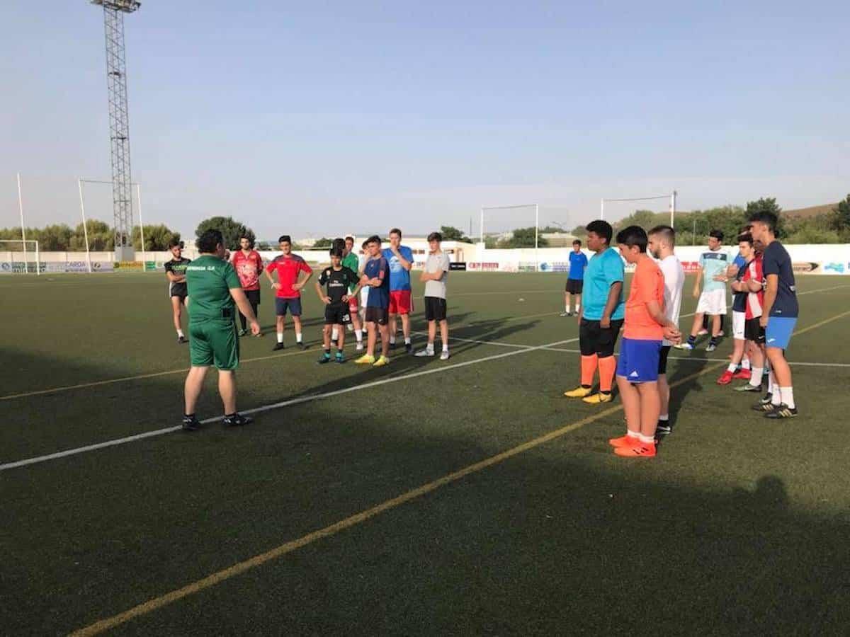 comiezon pretemporada juvenil futbol herencia - Comienza la pretemporada del equipo Juvenil de Fútbol de Herencia