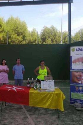 Entrega de premios del III Torneo de Pádel de Verano 12