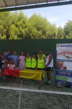 Entrega de premios del III Torneo de Pádel de Verano 14