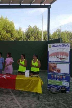 Entrega de premios del III Torneo de Pádel de Verano 16