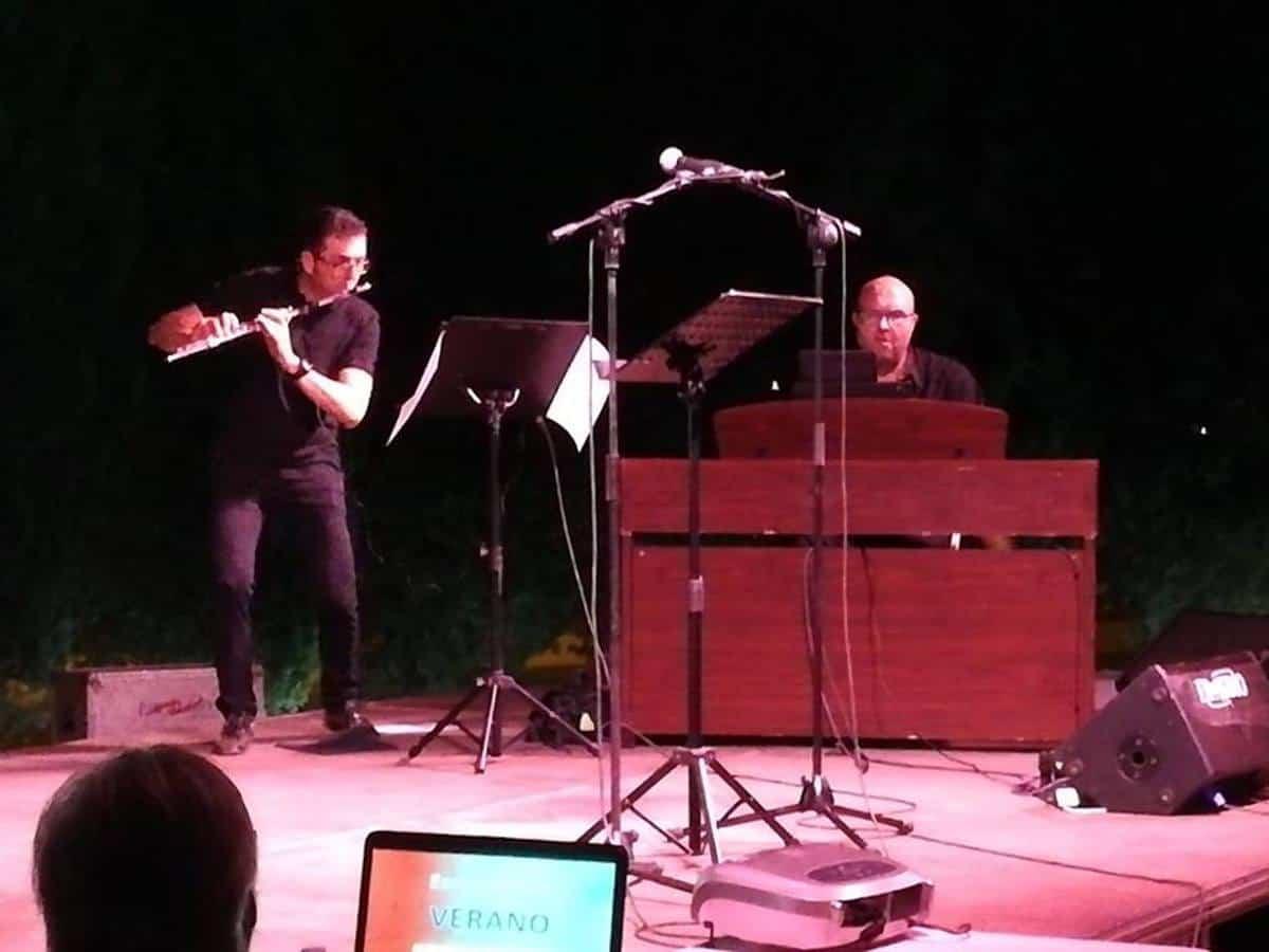 eusebio y luismi en recital poetico alcazar de san juan - El herenciano Luis Miguel Abengoza en el Recital Poético del Ateneo de Alcázar