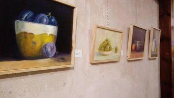"""exposicion dos formas de pintar herencia fotos cristina 5 353x198 - Inaugurada la exposición """"Dos formas de pintar"""" en Herencia"""
