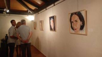 """exposicion dos formas de pintar herencia fotos cristina 6 342x192 - Inaugurada la exposición """"Dos formas de pintar"""" en Herencia"""