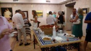 """exposicion dos formas de pintar herencia fotos cristina 7 294x165 - Inaugurada la exposición """"Dos formas de pintar"""" en Herencia"""