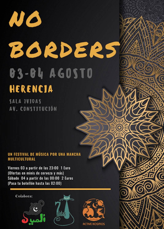 festival no borders herencia 1068x1495 - Primera edición del Festival: ¡NO BORDERS! este fin de semana
