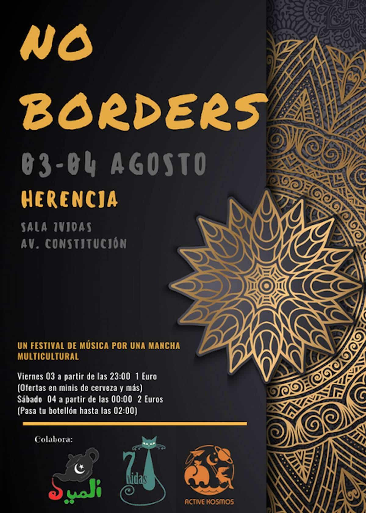 Primera edición del Festival: ¡NO BORDERS! este fin de semana 5