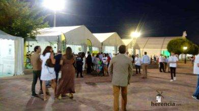 herencia en IV Feria Regional del Melon 5 391x219 - Herencia estuvo en el IV Feria Regional del Melón
