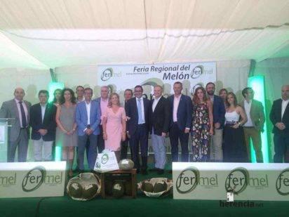 herencia en IV Feria Regional del Melon 8 412x309 - Herencia estuvo en el IV Feria Regional del Melón