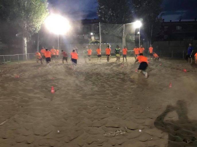 herencia futbol entrenamiento agua arena herencia 8