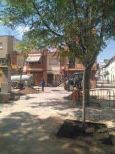 La nueva Plaza Cervantes de Herencia pronto finalizará sus obras 12