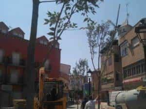 La nueva Plaza Cervantes de Herencia pronto finalizará sus obras 8