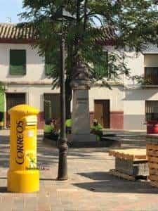 La nueva Plaza Cervantes de Herencia pronto finalizará sus obras 5