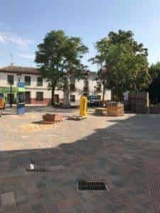 La nueva Plaza Cervantes de Herencia pronto finalizará sus obras 24
