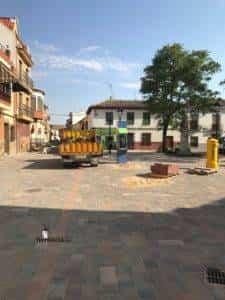 obras avenida y plaza cervantes en herencia fotos dcarrero herencia net 16 225x300 - La nueva Plaza Cervantes de Herencia pronto finalizará sus obras