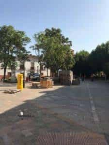 obras avenida y plaza cervantes en herencia fotos dcarrero herencia net 23 225x300 - La nueva Plaza Cervantes de Herencia pronto finalizará sus obras