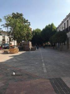 obras avenida y plaza cervantes en herencia fotos dcarrero herencia net 24 225x300 - La nueva Plaza Cervantes de Herencia pronto finalizará sus obras