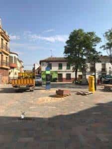 La nueva Plaza Cervantes de Herencia pronto finalizará sus obras 35