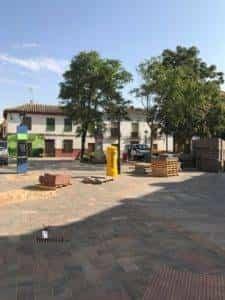 obras avenida y plaza cervantes en herencia fotos dcarrero herencia net 28 225x300 - La nueva Plaza Cervantes de Herencia pronto finalizará sus obras