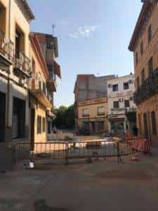 La nueva Plaza Cervantes de Herencia pronto finalizará sus obras 15