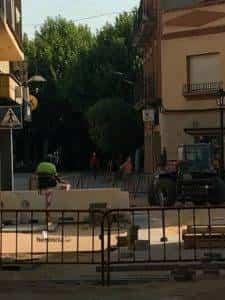 La nueva Plaza Cervantes de Herencia pronto finalizará sus obras 21