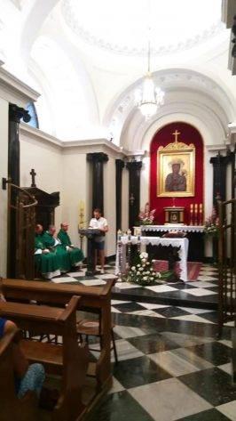 peregrinaci%C3%B3n parroquia de Herencia a Polonia12 266x473 - La parroquia de Herencia peregrina a Polonia