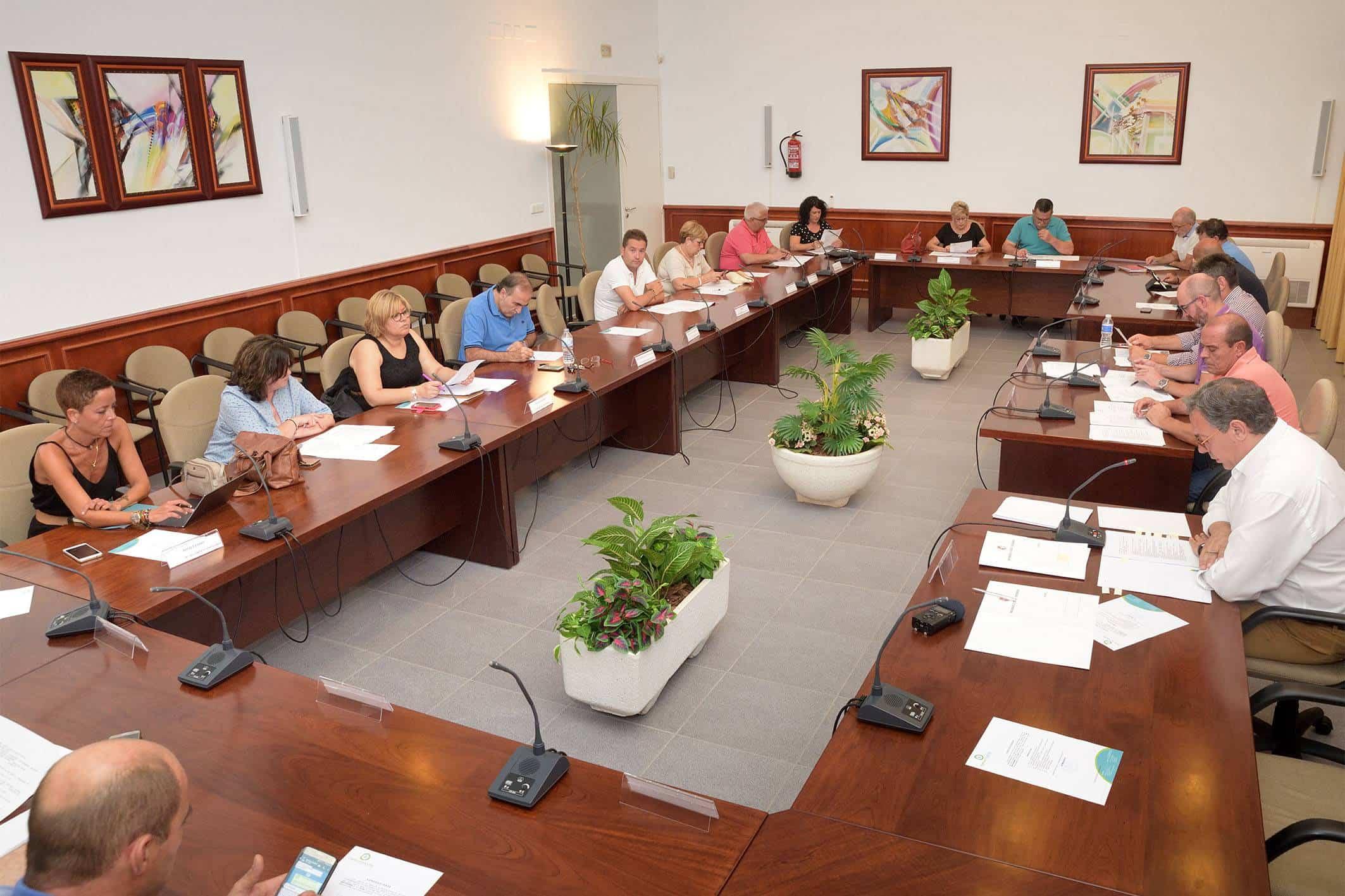 20180911 Pleno Comsermancha Comsermancha - La Mancomunidad aprueba un incremento en las cuotas para 2019 por debajo del IPC actual