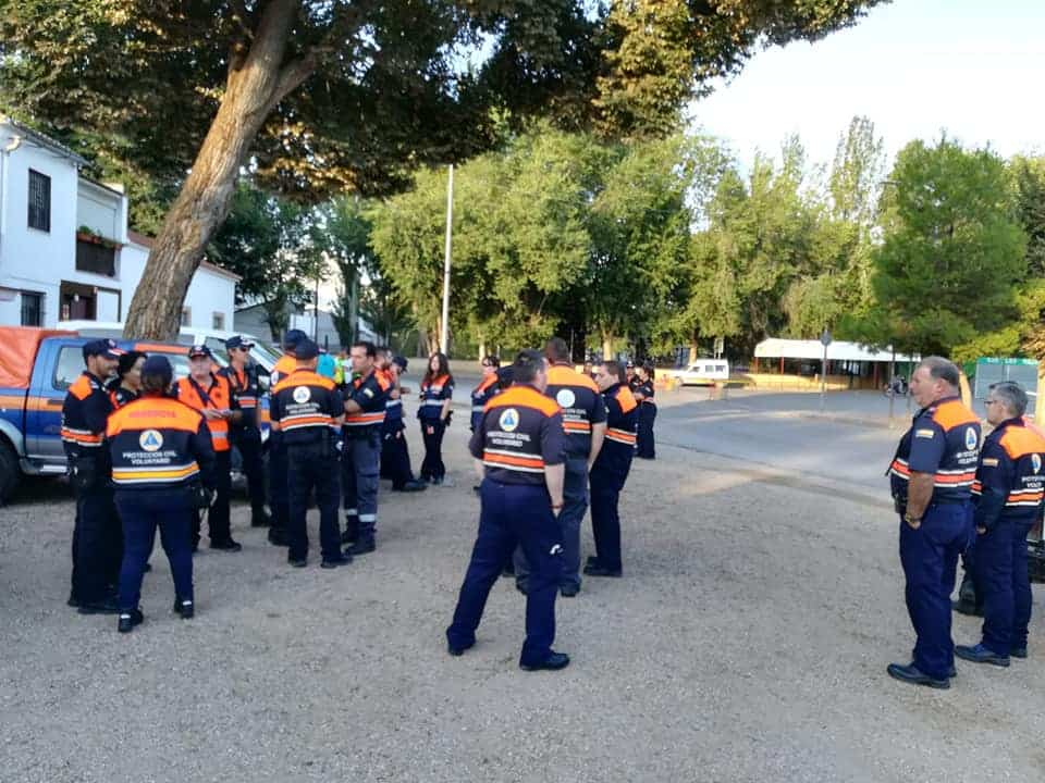 25 voluntarios de Protección Civil colaboraron con la 42 Carrera Popular 2
