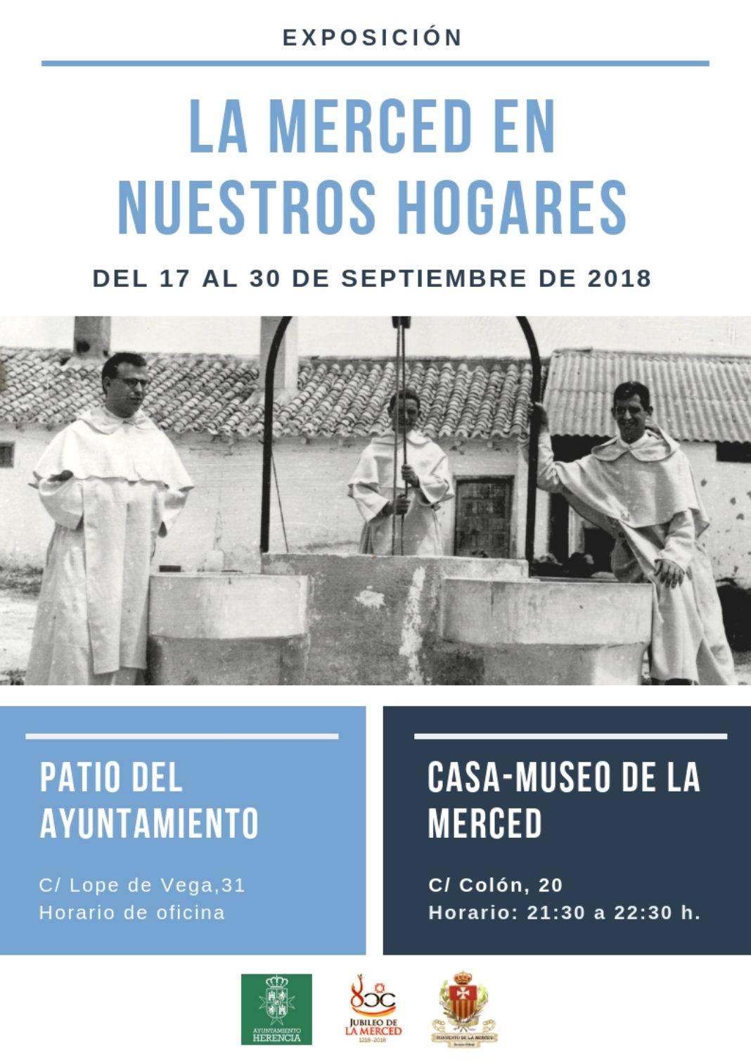 Exposición mercenaria 1068x1511 - Exposición La Merced en nuestros hogares