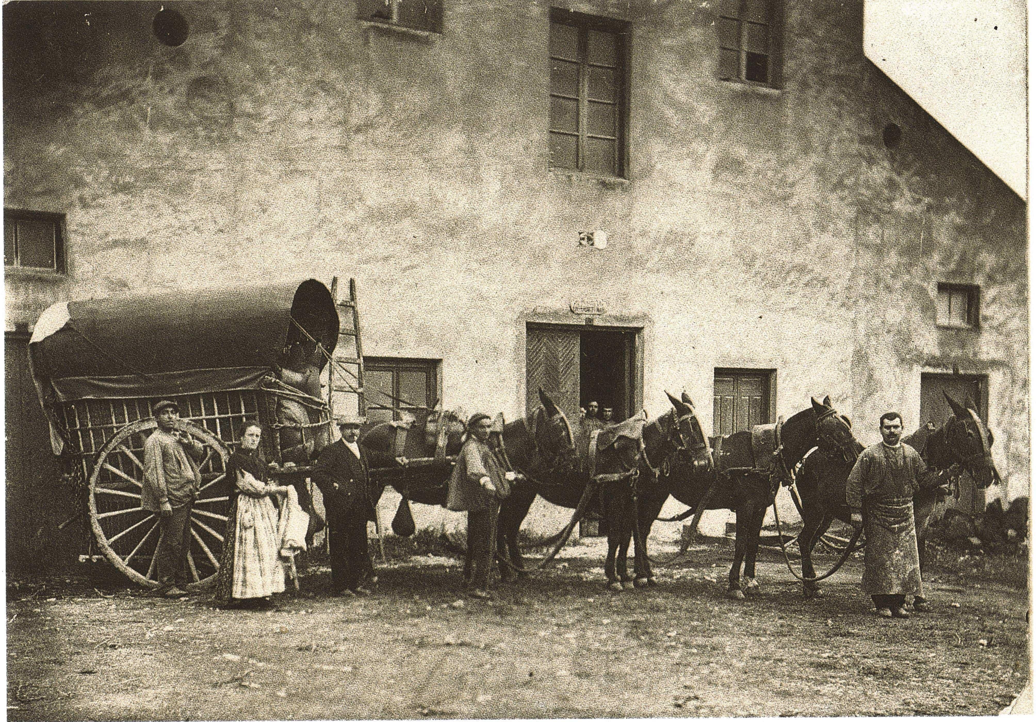 FOT 635 - El comercio en Herencia a principios del siglo XX