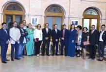 El Gobierno regional asistió a la inauguración de la feria y fiestas de La Merced de Herencia