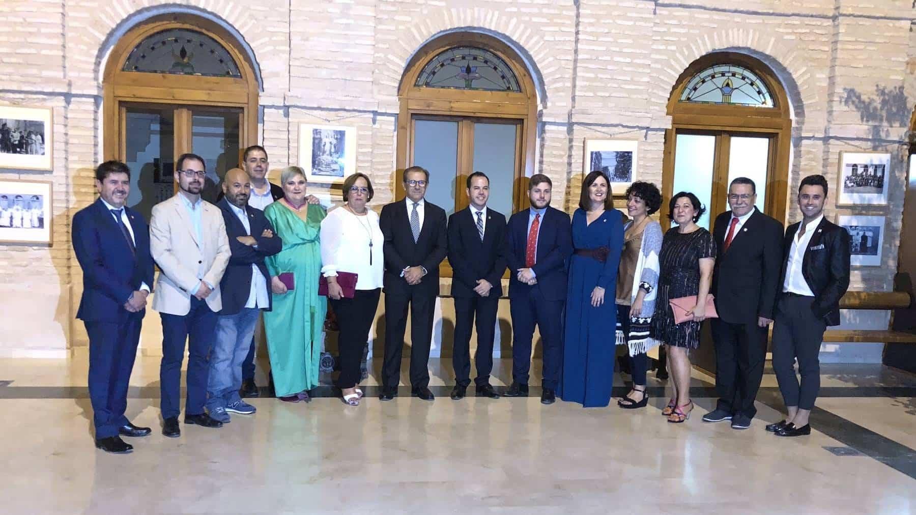 Hernando en feria de Herencia - El Gobierno regional asistió a la inauguración de la feria y fiestas de La Merced de Herencia